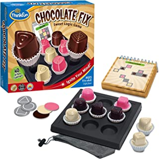 ThinkFun Chocolate Fix - Award Winning Logic Game and STEM Toy For Age 8 and Up