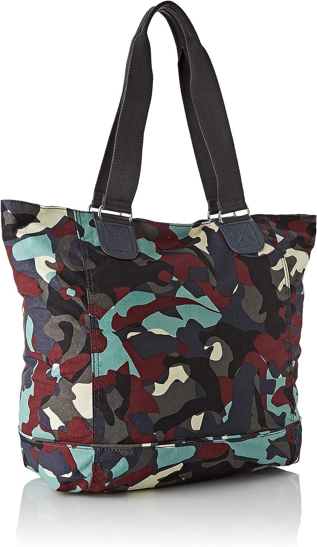 Kipling Shopper C, Cabas Multicolore (Camo Large)