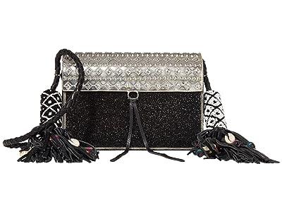 Sam Edelman Indigo Beaded Iron Bag (Black) Handbags