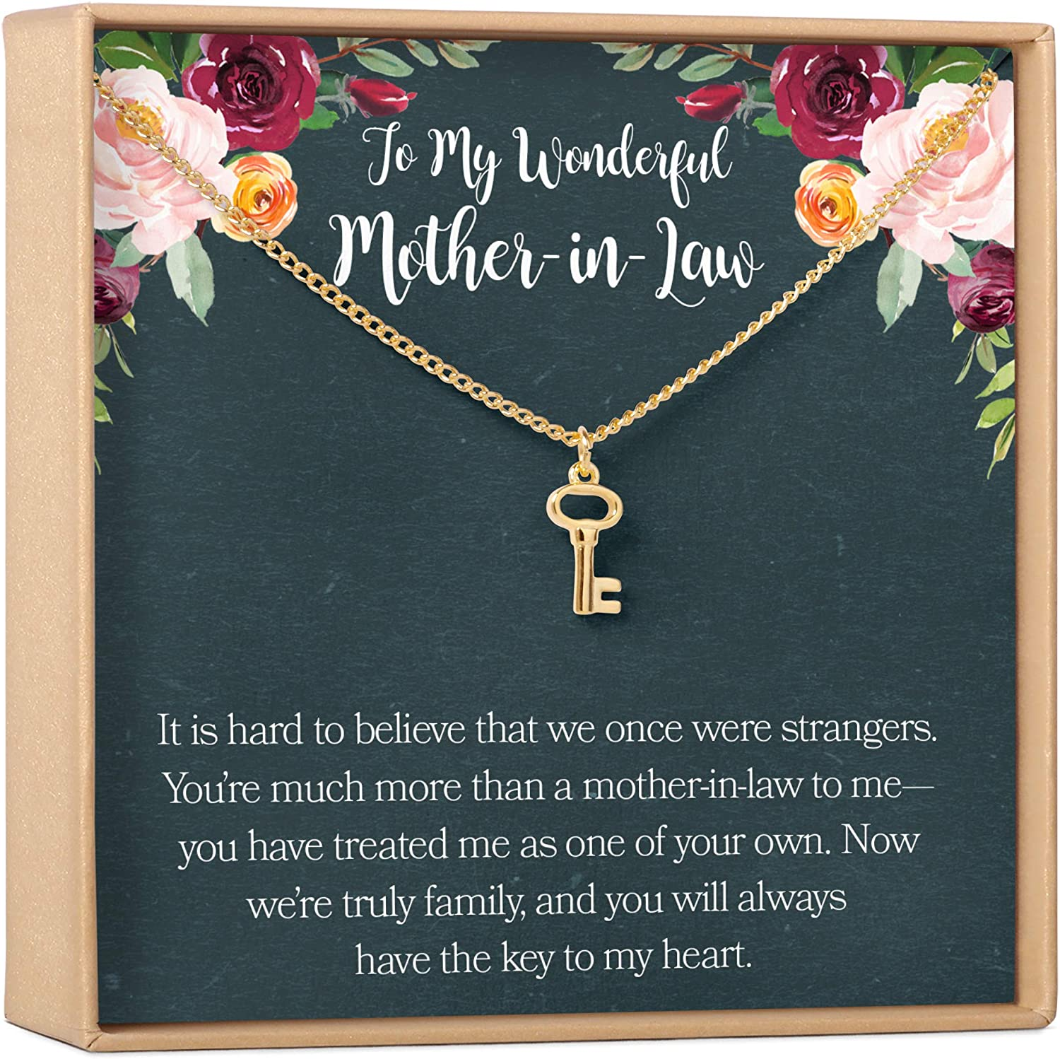 Mother-In-Law Max 41% OFF Gift Necklace: To of H Mother My 5% OFF