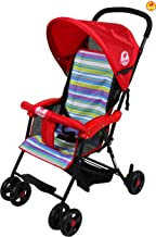 BAYBEE Shade- Baby Buggy Stroller (Red)