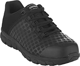 EVER BOOTS Steel Toe Men's Safety Work Industrial and Construction Shoe Slip Resistant Lightweight