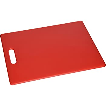Dexas Classic Jelli Cutting Board with Handle, 11 by 14.5 inches, Red
