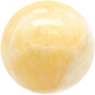 yellow calcite crystal vaults