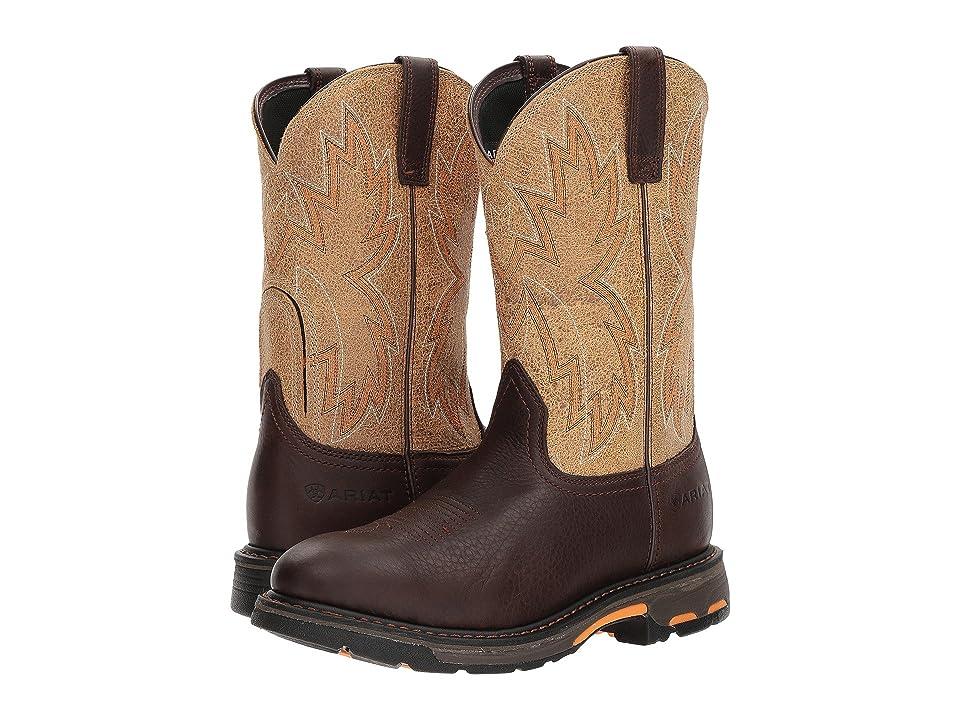 Ariat Workhog Raptor (Chocolate/Crazy Tan) Cowboy Boots