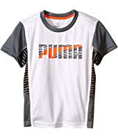 Puma Kids - Print Mix PUMA® Tee (Little Kids)