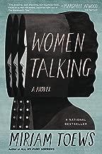 a woman talking