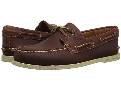 Sperry A/O 2-Eye Richtown Pullup Boat Shoe (Tan) Men