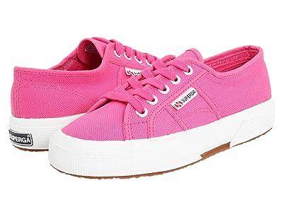 Superga Kids 2750 JCOT Classic (Toddler/Little Kid) (Fuxia SP 11) Girls Shoes