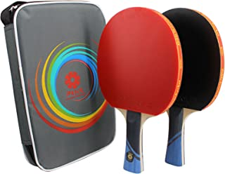PASOL 2- Player 4 Star Advanced Training Ping Pong Paddle Premium Practice Table Tennis Rackets