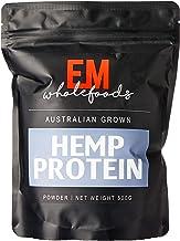 Em Wholefoods Australian Grown Hemp Protein Powder 500 g, 500 milliliters