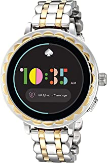 Kate Spade New York Women's Quartz Wrist Watch smart Display and Stainless Steel Strap, KST2012