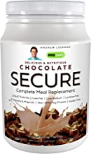 Andrew Lessman Secure Soy Complete Meal Replacement - Chocolate 60 Servings – Only 67 Calories, 7 Grams Non...
