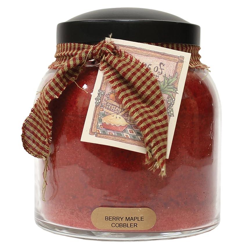 パット地獄コットンA Cheerful Giver A Berry メープルコブラー パパジャーキャンドル レッド