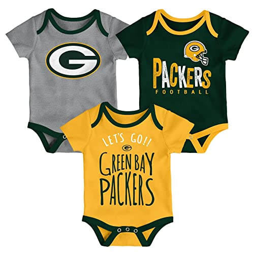 Green Bay Packers I Love Watching With Grandpa Baby Short Sleeve Bodysuit