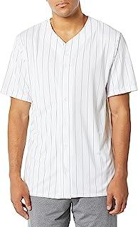 Augusta Sportswear Men's Augusta Pinstripe Full Button Baseball Jersey