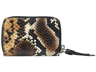 AllSaints Miki Sliver Card Holder (Brown) Handbags
