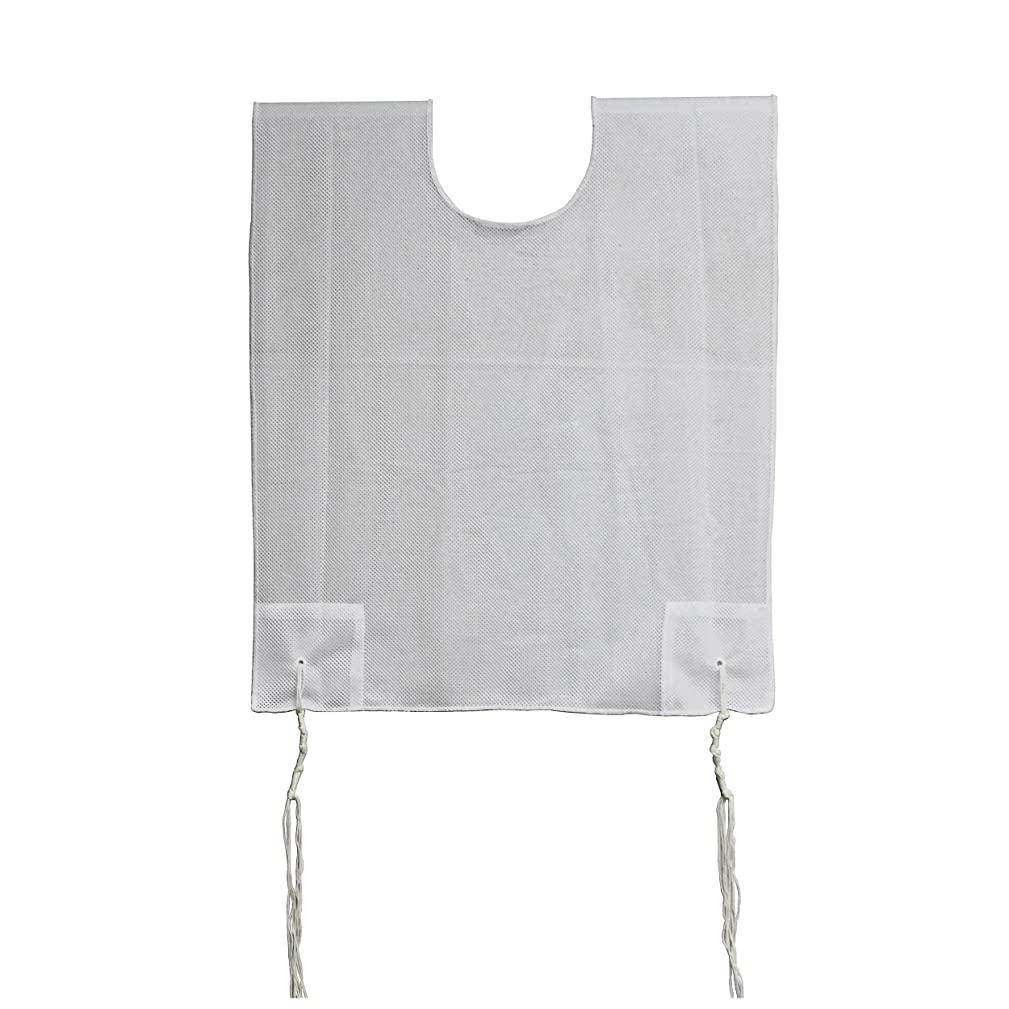 Zion Judaica 100% Polyester Quality Mesh Tzitzit Garment Certified Kosher Imported from Israel