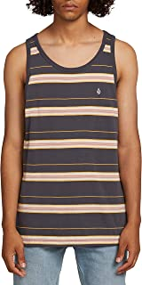 Volcom Men's Shaneo Striped Tank Top