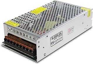 ALITOVE DC 24V 10A 240W Power Supply Adapter Transformer Switch AC 110V / 220V to DC 24V 10amp Universal Regulated Switching Converter for LED Strip Light CCTV Camera Security System