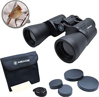 MEADE Instruments - TravelView 10x50 Binoculars Multi-use Coated Optics - Compact & Durable Exterior - Perfect for Outdoor...