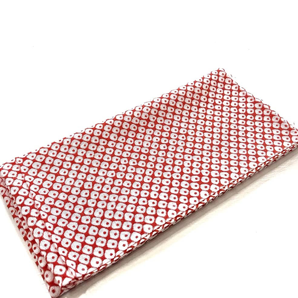 はちみつ銛粘着性手ぬぐい 赤かのこ ロングサイズ 日本 伝統 てぬぐい 手拭 ハンカチ タオル お土産