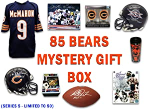 1985 Chicago Bears World Champs Mystery – Series 5 (Limited to 50) (3 Signed Items/2-3 Novelties Per Box)