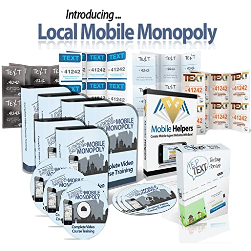Make $30k/m Texting - Local Mobile Monopoly