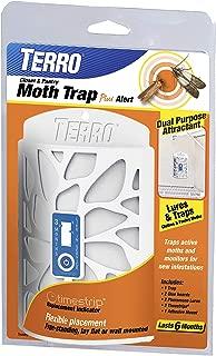 Terro T2950 Closet & Pantry Moth Trap Plus Alert, White