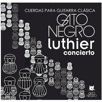 Juego de cuerdas Gato Negro Luthier para guitarra clásica y ...
