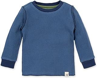 00 BONDS Baby {BOYS LONG SLEEVE BLUE ORANGE STRETCHIES TEE} Sizes 000