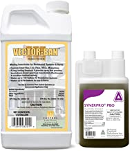 Vector Ban and PBO System Refill for Equine Insect Misting Systems- for Use in Barns, Stables, Etc.