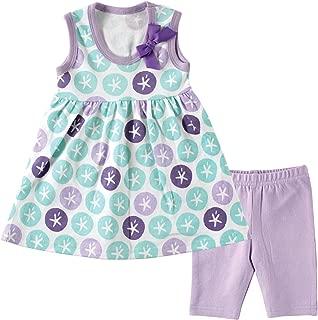 Baby Girls' Dress and Cropped Legging Set