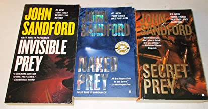 John Sanford, 3 books, Invisible Prey, Naked Prey, Secret Prey