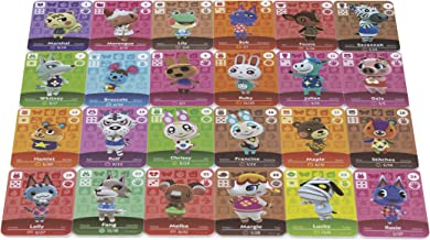 NFC Tag Game Cards for Animal Crossing New Horizons-24pcs Cards with Case