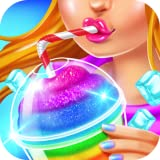 Rainbow Frozen Slushy Truck - Ice Candy Slush Maker Games Free