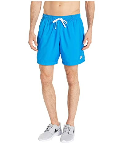 Nike NSW Woven Flow Shorts (Light Photo Blue/White) Men