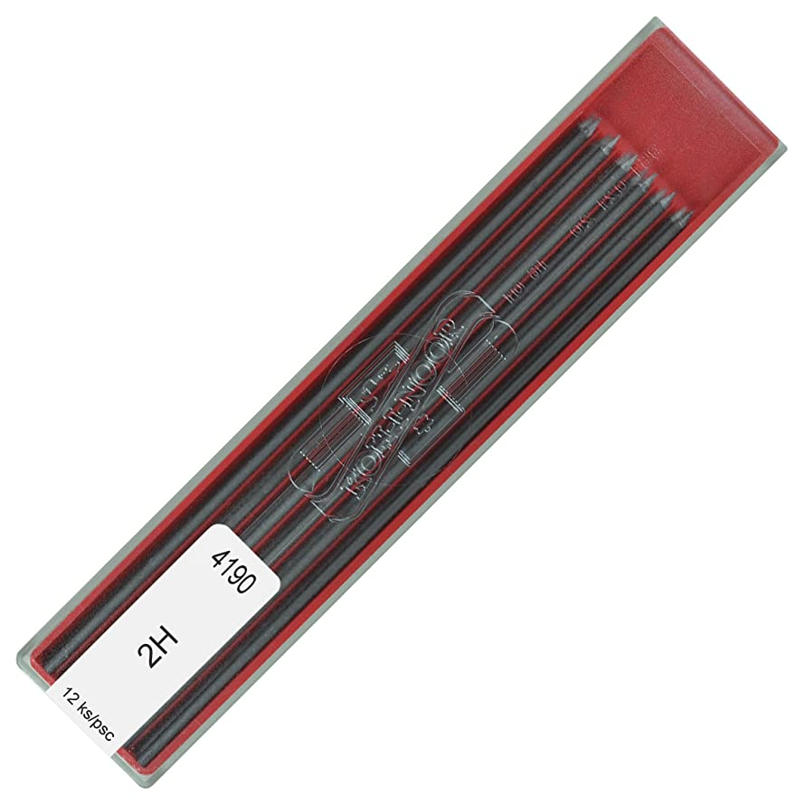 Koh-i-noor 4190 2H 2.0 mm Graphite Leads for Technical Drawing and Retouching.