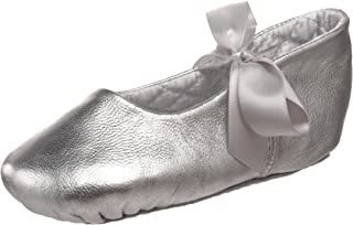 Baby Deer 5182 Sebrina Metallic Ballet Flat (Infant/Toddler),Silver,7 M US Toddler