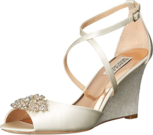 Badgley Mischka damen& 039;s Abigail Wedge Sandal