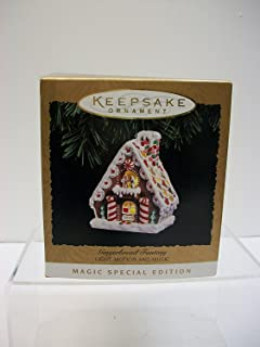 Hallmark Keepsake Ornament Gingerbread Fantasy Light, Motion and Movement, New in Box