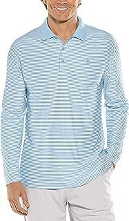 UPF 50+ Men's Long Sleeve St. Andrews Golf Polo - Sun Protective