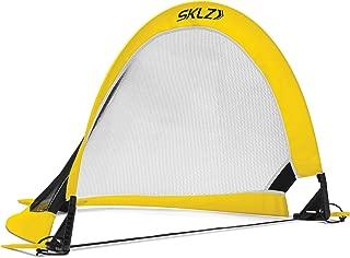 SKLZ Playmaker Portable Pop-Up Goal Set for Training and Pickup Games (Includes 2 Goals)