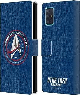 Head Case Designs Officieel Gelicentieerd Star Trek Discovery Starfleet Badges Lederen Book Portemonnee Cover compatibel m...