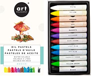 Prima Marketing 631925 Prima Art Philosophy Water Soluble Oil Pastels 12/Pkg-Basics