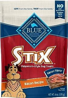 Blue Buffalo Stix Soft Moist Dog Treats Pepperoni Style