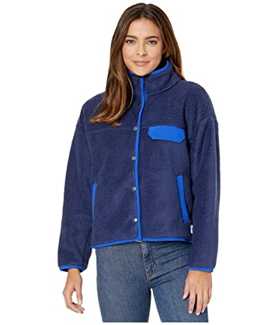 The North Face Cragmont Fleece Jacket (Montague Blue/TNF Blue) Women