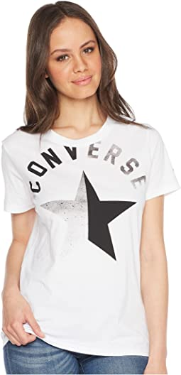 Converse Split Star Crew Tee