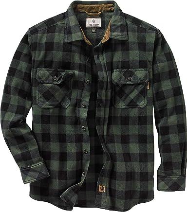 Legendary Whitetails Men's Navigator Fleece Button Up Shirt