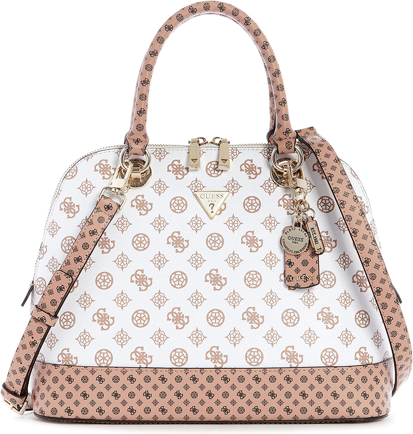 GUESS Cessily Popularity Dome Satchel New sales